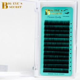 $enCountryForm.capitalKeyWord Australia - Big Eyes Secret Factory Supplies Individual Eyelash Trays Curl J B C D L High Quality Lashes Private Label Eyelash Extension