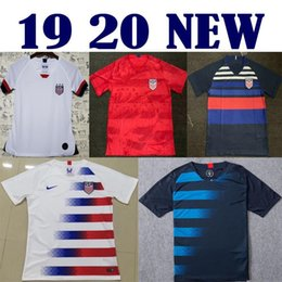 United Cup Soccer NZ - Gold cup 2019 America Home away USA Soccer Jersey 2019 copa america United States Soccer Shirt USA men Football SHIRT Uniform