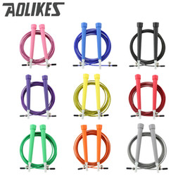 $enCountryForm.capitalKeyWord Canada - Balight Sport Speed Jump Rope Ball Bearing Metal Handle Skipping Stainless Steel Cable Fitness Equipment AOLIKES