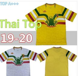 173fa16aba7 2019 2020 National Team Mali Soccer Jerseys Custom Any Name Any Number Home  Yellow Concept 19 20 Football Jersey Shirt Uniform