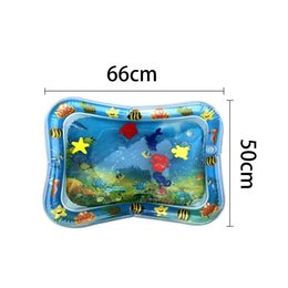 army shoes for kids UK - Summer Baby Kids Water Play Mat Inflatable Baby Water Mat Fun Activity Play Center For Children & Infants FE2 Bathroom Storage Organizatio