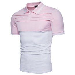 brand mens polo NZ - Brand Men Polo Shirt High Quality Mens Slim Fit Short Sleeve Polo Shirts Men Summer Casual Breathable Polos Para Hombre XXL 1616-B06