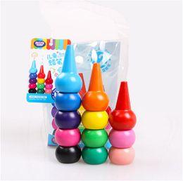 $enCountryForm.capitalKeyWord Australia - Non-toxic children's safety color Crayon baby 3D finger art Supplies kindergarten Easy to erase educational kid stationery