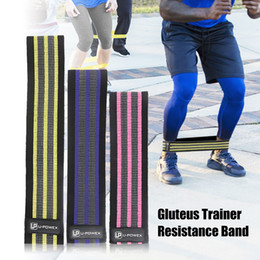 Pedal exerciser online shopping - High quality Gluteus Training Band Hip Resistance Band Exercise Gym Fitness Yoga Loop Bands Legs Hip Gluteus Toner Unisex