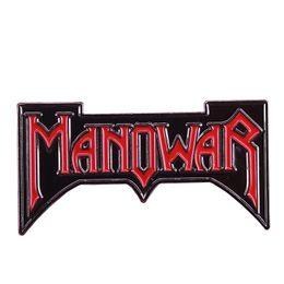 Rock bRooch online shopping - Manowar enamel pin heavy metal band brooch s vintage rock power badge Metallica fans gift musicial jewelry