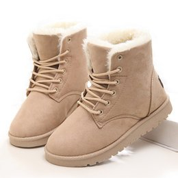 $enCountryForm.capitalKeyWord UK - 2018 Classic Women Boots Woman Winter Boots Plus Size 43 Snow Boots With Plush Booties For Winter Shoes Woman Ankle Botas Mujer