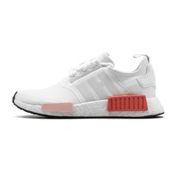 Chinese  2019 NMD R1 Primeknit Japan Triple Black white red OG pink men women Outdoor Shoes runner breathable sports shoe trainer fashion sneakers 13 manufacturers