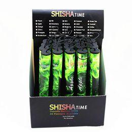 Shisha Time Disposable Electronic Cigarette Australia - E ShiSha Hookah Pen Disposable Electronic Cigarette Pipe Pen Cigar Fruit Juice E Cig Stick Shisha Time 500 Puffs Colorful A882