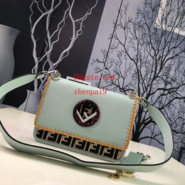 girl hands bag NZ - 2019 brand bag Solid letter embroidery handbag with Hand-wrapped Genuine Leather crossbody bag messenger bag handbags purses woman AB-14