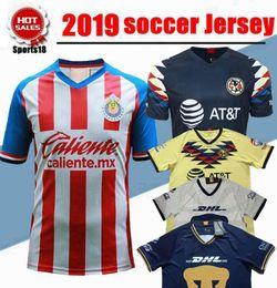 $enCountryForm.capitalKeyWord Canada - 2020 MEXICO Club Classic Chivas de Guadalajara Home Soccer Jersey 2019 Authentic Champion Camiseta de Futbol Football Shirts
