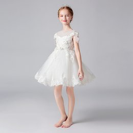 $enCountryForm.capitalKeyWord Australia - High Quality Children Party Dress Girls First Communion Dresses Flower Girl Dress for Party Dresses Child Baby Costume