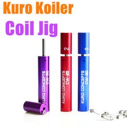 Coiler Jig Australia - Newest Kuro Koiler Wire Coiling Tool coil jig atomizer coiltool Wrapping Coiler for ecig kayfun ATTY Orchid haze aris Origen Legion RDA RBA