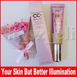 Makeup cc online shopping - Face Makeup Fashion CC cream Your Skin But Better CC Color Full Coverage Cream Color