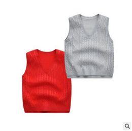 $enCountryForm.capitalKeyWord Australia - School Uniform Sweater Vest Toddler Baby Boys Girls Diamond V Neck Knitted Waistcoat Vest Children Kids Cotton Back to School Clothes