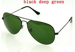 $enCountryForm.capitalKeyWord Australia - new 58mm 62 Pilot sunglasses Men Brand Designer uv protection Sunglass Women Driving black lens Sun glasses Glass Lensr Accessories gafas