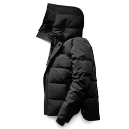 down coat canada winter 2020 - Canada fashion Winter Mens Homme Winter Jassen Chaquetas Outerwear Big Fur Hooded Fourrure Manteau Down Jacket Coat Hive