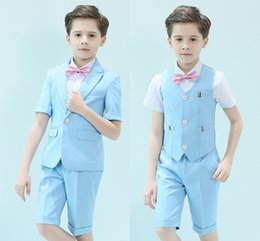 kids purple suit NZ - Handsome One Button Peak Lapel Kid Complete Designer Handsome Boy Wedding Suit Boys' Attire Custom-made (Jacket+Pants+Vest)