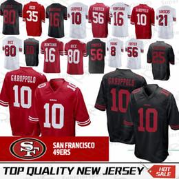 181b9170a1e San Francisco 10 Jimmy Garoppolo 49ers Jersey 16 Joe Montana 56 Reuben  Foster 80 Jerry Rice 25 Richard Sherman