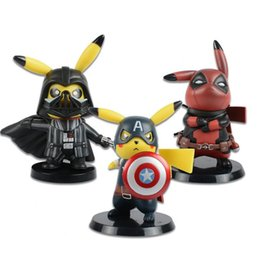$enCountryForm.capitalKeyWord Australia - America Darth Vader cute Pikachu Cosplay Action Figures Model Toy for kids birthday gifts free shipping
