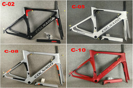 Colnago biCyCle online shopping - 14 COLORS Colnago Carbon Road Frame full carbon fiber bicycle frame with BB386 Frame XXS XS S M L XL