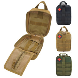 Life Saving Kit Australia - Outdoor medical life-saving Kit Sports Hanging Bag Sports accessories package Multifunctional Tactical Package Recreational Running Mobile B