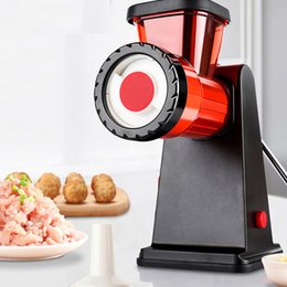 Tools Grinders Australia - New Household Meat Grinder Multifunction Mincer Stainless Steel Blade Home Machine Grinder Sausage Mincer Kitchen Tool