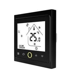 Großhandel 16A WiFi Thermostat mit Touch Screen LCD Display Wöchentlicher programmierbarer Temperaturregler für die Startseite für elektrische Fußbodenheizung