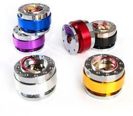 Snap kitS online shopping - Aluminum Car Steering Wheel Quick Release HUB Adapter Snap Off Boss Kit Black