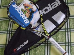 men tennis rackets UK - 2020 quality tennis rackets Blade Green racquet with string and bag 1 piece racket free shipping