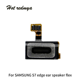 Speaker Ear Australia - 50pcs Ear Speaker Flex For Samsung Galaxy S7 G930 S7 Edge G935 Earpiece Speaker Sound with Microphone Flex Cable Replacement Parts