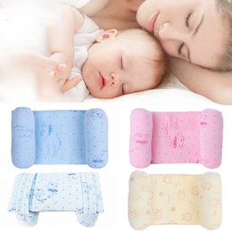 Animal Travel Pillows Australia - Newborn head positioner prevent flat pillow travel anti-roll baby pillow Anti-static