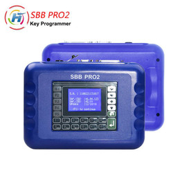 porsche obd tool UK - Newest Auto Immobilizer V48.99 SBB Pro2 OBD Car Key Programmer Support Cars to 2018 Multi Langauge SBB Key Maker Tool
