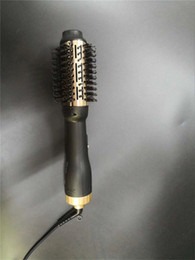 ElEctric hot air brushEs online shopping - Hot sale Best quality One Step Hair Dryer Volumizer Air Brush Styler Temperatures and Speeds setting for all styling