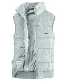 Men vest polo online shopping - Men s PoLo cotton wool lacoste collar down Ma3 jia3 vests sleeveless jacketse plus size quilted vests Menou terwear