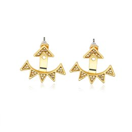 $enCountryForm.capitalKeyWord UK - Geometric trigonometric ear nails European and American boutique fashion ladies personality jewelry conjoined small pointed triangular full