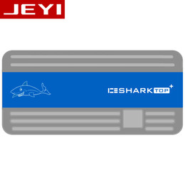 Discount cool mobile cases - JEYI ICESHARK i9 Hidden Line HDD Enclosure mobile hdd box case NVME TYPE C3.1 JMS583 m. 2 USB3.1 M.2 PCIESSD U.2 M.2 PCI