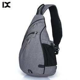 Large Packs Australia - Brand Large Capacity Male Chest Bag High Quality Nylon Men School Bags Modern Shoulder Bag Unisex Crossbody Bags Messenger Pack Y19051802