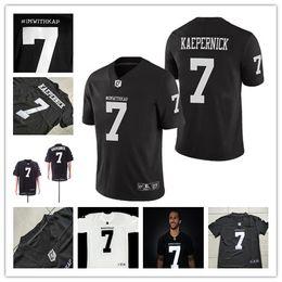 1881572a2 Black Kaepernick Jersey NZ - Men s Stitched 7 COLIN KAEPERNICK IMWITHKAP  JERSEY I M WITH KAP Movie