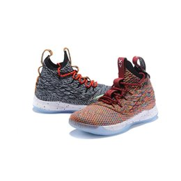 youth kids basketball shoes UK - What the Lebron witness 3 high mens basketball shoes for sale MVP Christmas BHM Oreo youth kids 16 boots with box size 7-12