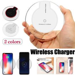 venda por atacado Qi carregador sem fio carregador de telefone pad fantasia portátil de cristal universal iluminação led tablet k9 de carregamento para iphone xs max samsung s10e além de
