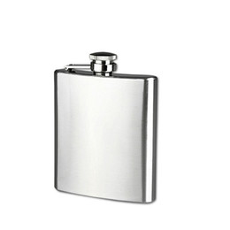 China Stainless Steel Hip Flask Liquor Whisky Alcohol Drinkware Bottle Pocket Flask 6 8 10 OZ suppliers