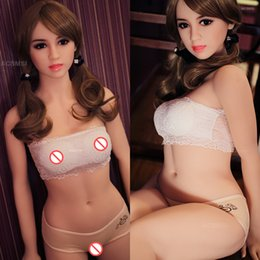 Discount lifelike sex dolls anal 168cm Lifelike Real Silicone Sex Doll Full Size Japanese Adult Sex Love Dolls Oral Vagina Anal Real Doll for Men
