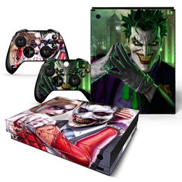 $enCountryForm.capitalKeyWord Australia - Fanstore Full Cover Skin Sticker Wrap Cover for Xbox One X Console and 2 Remote Controller New Design
