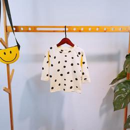 $enCountryForm.capitalKeyWord Australia - 2019 Spring T-shirts Polka Dot Print Baby Boys T Shirt For Autumn Infant Kids Boys Girls Clothes Cotton Toddler Casual Tops MX190730