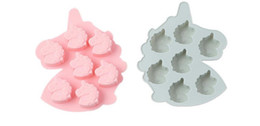 Free Shipping 3d Molds UK - Free shipping 3D Unicorn Silicone Soap Molds Mould For Soap Candle Candy mold silicone