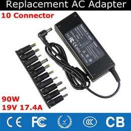 Hp Laptop Wholesalers Australia - Universal 90W 19V4.74A Laptop Charger Notebook AC Adapter with 10 DC Connector for ASUS Samsung Lenovo Sony HP Acer