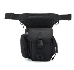 wool fiber Australia - New waterproof Oxford cloth camouflage single shoulder slung reporter photography sports leg bag