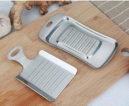 $enCountryForm.capitalKeyWord NZ - Kitchen Gadgets Stainless Steel Ginger Press Crusher Mini Garlic Grater Slicer Wasabi Chopper Cutter Cooking Tools