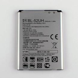 Lg L65 UK - Good Quality 2040mAh High Capacity Replacement Battery Batteria BL-52UH For LG Optimus Series III L70 L65 D285 D280 D320 D320N VS876 Lucid 3