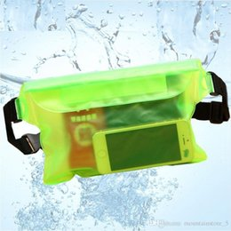 Cell phone waist pouCh online shopping - Waterproof Dry Pack Outdoors Swimming Drifting Waterproof Pouch Dry Bag PVC Waist Phone Cover Storage Protective Bag Retail
